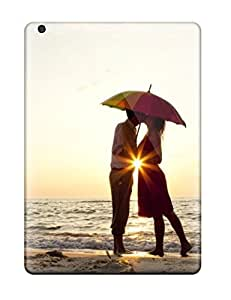 nazi diy Awesome Couple Kissing Under Umbrella Flip Case With Fashion Design For Ipad Air