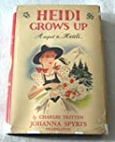 img - for Heidi grows up, book / textbook / text book