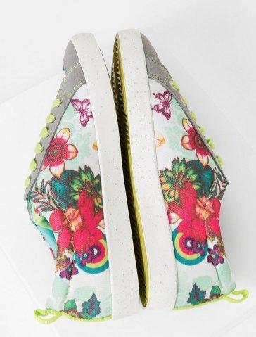Desigual Shoes_classic T - Zapatillas de deporte Mujer Amarillo - Gelb (Limestone)