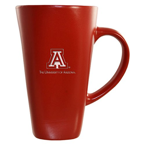 Tucson Coffee Mug - University of Arizona -16 oz. Tall Ceramic Coffee Mug-Red