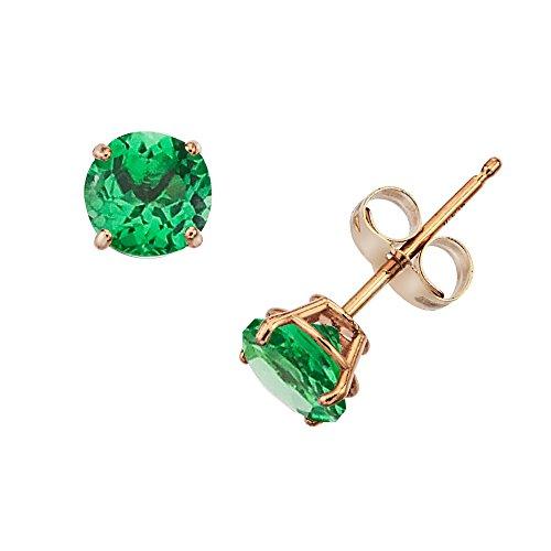 0.5 Ct Emerald Ring - 5