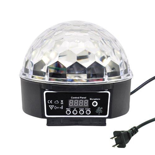 Super Wonderful LED RGB Crystal Magic Ball Effect light DMX Disco DJ Stage Lighting Play and Plug