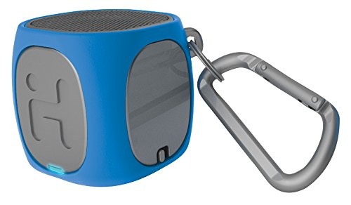 iHome iBT55LGC Bluetooth Rechargeable Mini Speaker System (Blue/Gray)