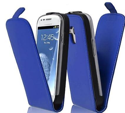Samsung Galaxy S3 Kunstleder Flipcase Hülle Case Cover Etui