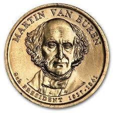 martin van buren $1 coin