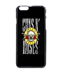 Ruby Diy Guns n Roses Pattern Image protective iphone 6 jhshiSPVryD case cover Hard Plastic case cover For iPhone 6 - 4.7 Inches