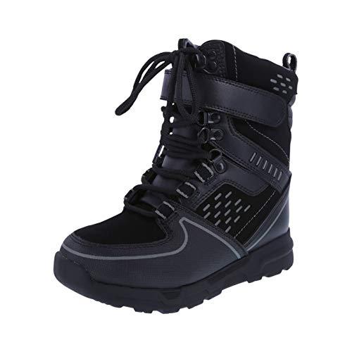 (Rugged Outback Black Boys' Mo -30 Snowboard Boot 13 Regular)