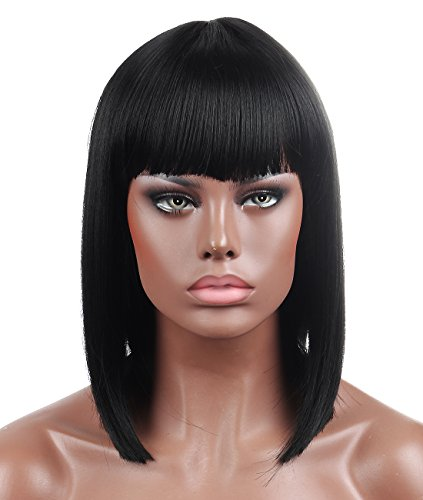 Top side part wigs for black women