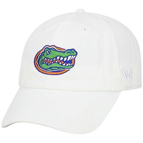 Florida Gators Hat Logo White - White Gator