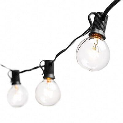 Globe String Lights with G40 Bulbs (25ft.) by Deneve