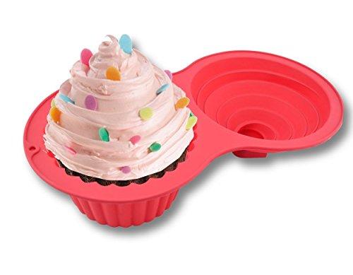 Sorbus Jumbo Cupcake Mold Silicone