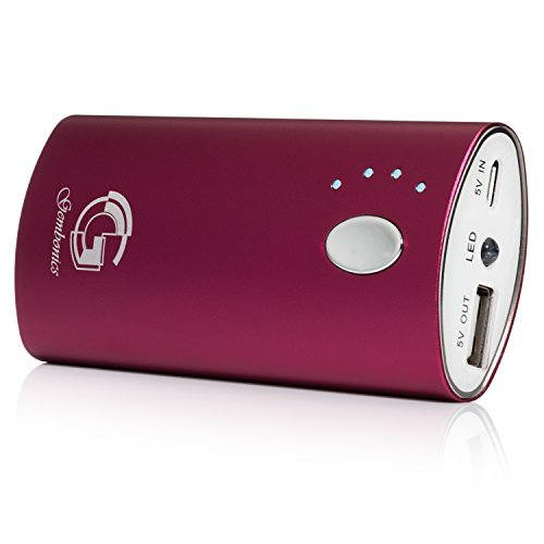 Gembonics Universal 6000mAh Power Bank - Red