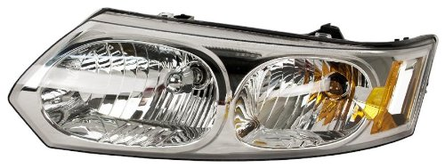 OE Replacement Saturn Ion Driver Side Headlight Assembly Composite (Partslink Number GM2502231) ()