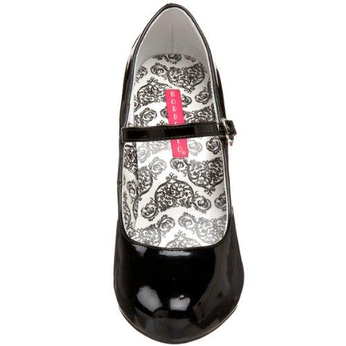 Zapato Bordello Tem35 Mujer b Negro 7RtnB1wSq