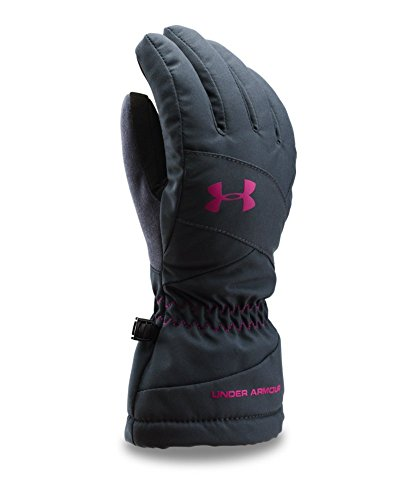 Under Armour Women's UA Mountain Gloves Large STEALTH GRAY