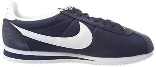 Nike Bleu Obsidian de Nylon 410 Homme White Cortez Gymnastique Classic Chaussures Bleu w4qRr6UxwH