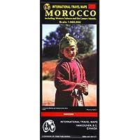 International Travel Maps Morocco: Western Sahara and the Canary Islands