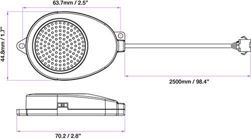 EchoMaster PS-FBP-S Parking Sensor Front Buzzer