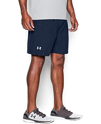 """Under Armour Men's Launch Run Woven 7"""" Run Shorts, Midnight Navy/Midnight Navy, X-Large"""