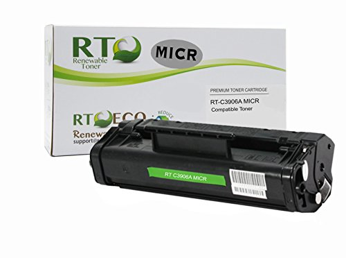5l 6l 3100 3150 Ax - Renewable Toner 06A Compatible MICR Toner Cartridge Replacement HP C3906A for HP LaserJet 5L, 6L, 3100, 3150, 3150, AX Series