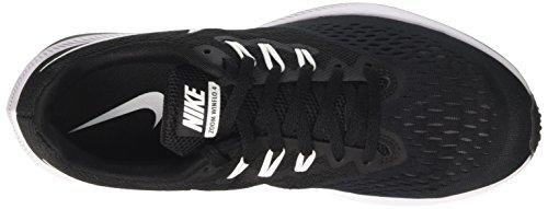Nike Menns Luft Zoom Winflo 4 Løpesko Svart / Hvit / Grå Størrelse 9,5 M Oss