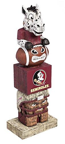 Evergreen NCAA Florida State Seminoles Tiki Totem