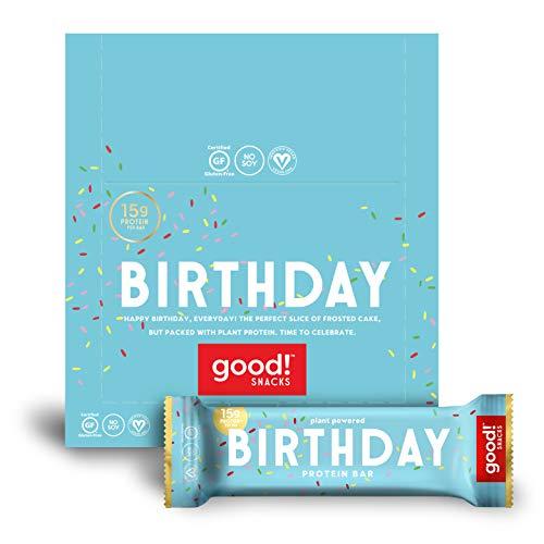 good Snacks Vegan Birthday