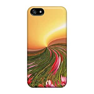 Tpu Lauragroff03 Shockproof Scratcheproof Modern Nature Hard Case Cover For Iphone 5/5s