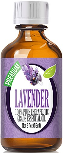 Lavender 100% Pure, Best Therapeutic Grade Essential Oil - 60mL (2oz)