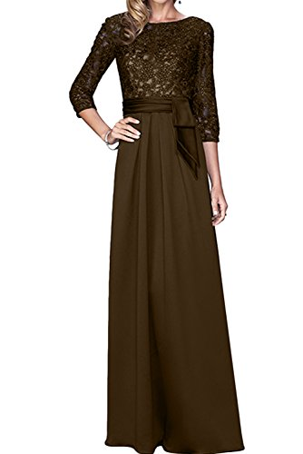 Vestido para Trapecio Mujer marrón Topkleider aq4dwq