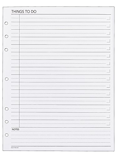 (Day Runner Things to Do Planner Refill (490-232))