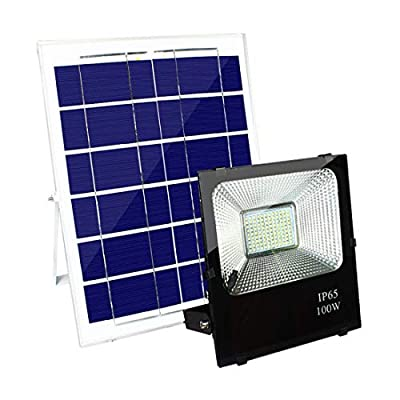 ZHIXIANG 100W LED Solar Light Smart Light Control Waterproof IP65 8000LM 198 LEDs 2835 SMD Solar Panel LED Flood Light Floodlight Outdoor Garden Security Wall Lamp