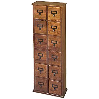Charmant Library Style CD Storage Cabinet