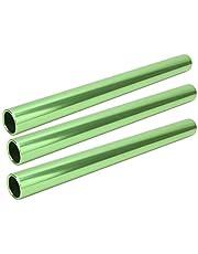 Atletiek, sprintrelais Heldere kleur Praktisch Duurzaam Slijtvast 29 cm hol voor atletieksprinten(groente)