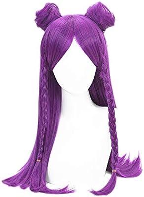 Muzi peluca LOL KDA Cosplay peluca para Kaisa peluca con peluca ...