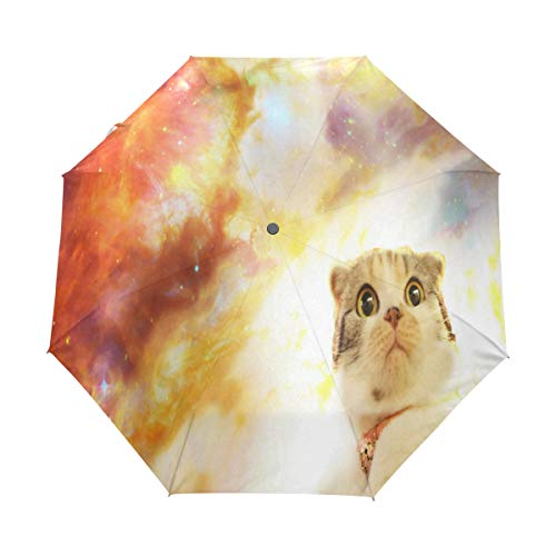 Umbrella Who Your Spirit Animal Golf Travel Sun Rain Windproof Auto umbrellas with UV Protection for Girls Boys Kids