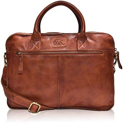 Oak Leathers Laptop Messenger Bag