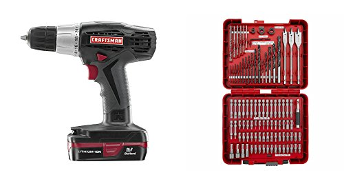craftsman-best-power-drill-accessory-kit-bundle-c3-192-volt-driver-w-battery-charger-guaranteed-100-