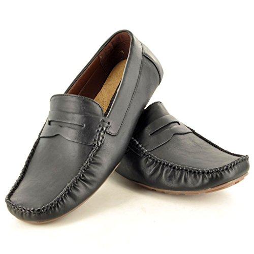 My Perfect Pair - botas sin cordones hombre Negro - negro