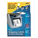 Avery® Self-Adhesive Labels for PC Label Printers LABEL,PRINTER,WHT (Pack of10)