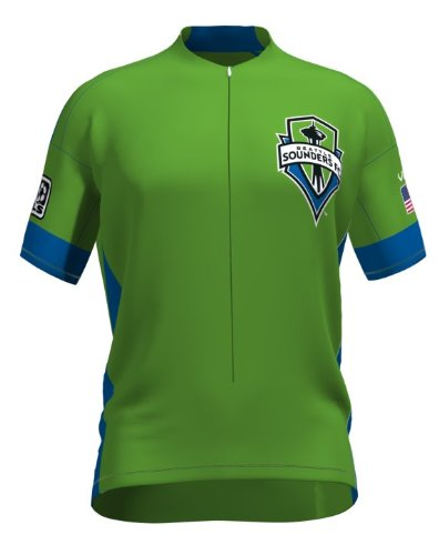MLS Seattle Sounders Women's Secondary Short Sleeve Vomax Jersey, Medium