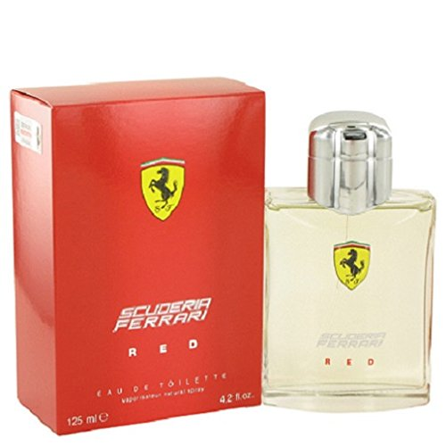 Ferrari Scuderia Red Eau De Toilette Spray, 4.2 oz (Red Spray Ferrari)