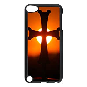 Fashion Protection Jesus Christ Christian Cross Hard Cover Case For iPod Touch 5th Generation