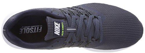 Nike Herren Run Swift Laufschuhe, Blau (Thunder Bluewhitevoltobsidian 403), 38.5 EU