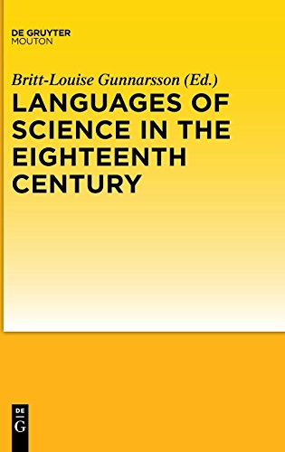 Languages of Science in the Eighteenth Century by De Gruyter Mouton