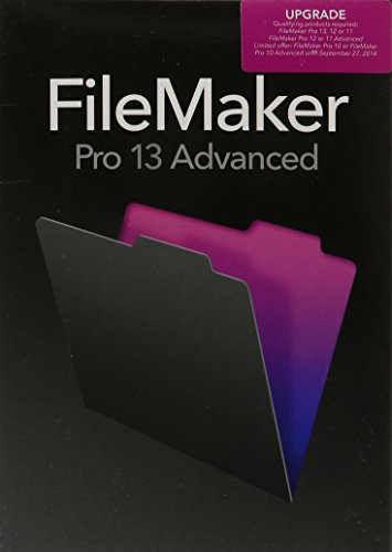 FileMakerPro 13 Advanced Upgrade - English