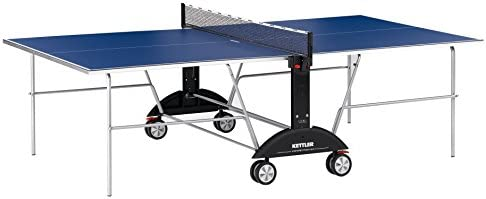 Kettler Competition 3.0 Indoor Table Tennis Table Bundle 2 Player Set 2 Ace Rackets Paddles and 6 Balls, 3-Star Rating