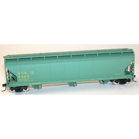 Acf Covered Hopper - HO RTR ACF 3-Bay Covered Hopper, KCS ACU92077