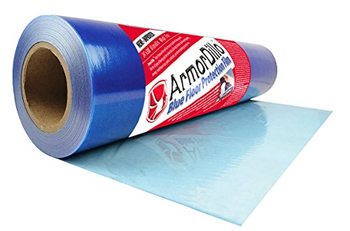 "ArmorDillo Strong 24"" x 200' Easy To Use Hardwood Floor, Hard Surface Protection Film"
