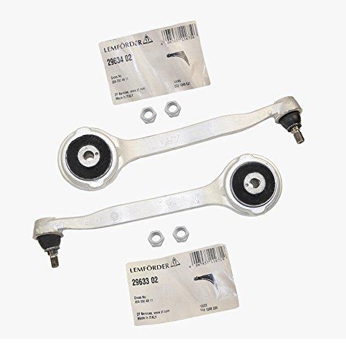 (Mercedes Front Upper Control Thrust Arm Lt & Rt Front Lemforder OEM 2043304311 / 2043304411 C250 C280 C300 C320 C350 C63 AMG CLK320 CLK350 CLK500 CLK550 E350 E550 GLK350 SLK250 SLK280 SLK350 SLK55 AMG)